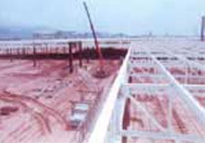 惠州熊猫汽车厂址16万平方米钢结构厂房